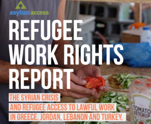 Refugee Work Rights and the Syrian Crisis